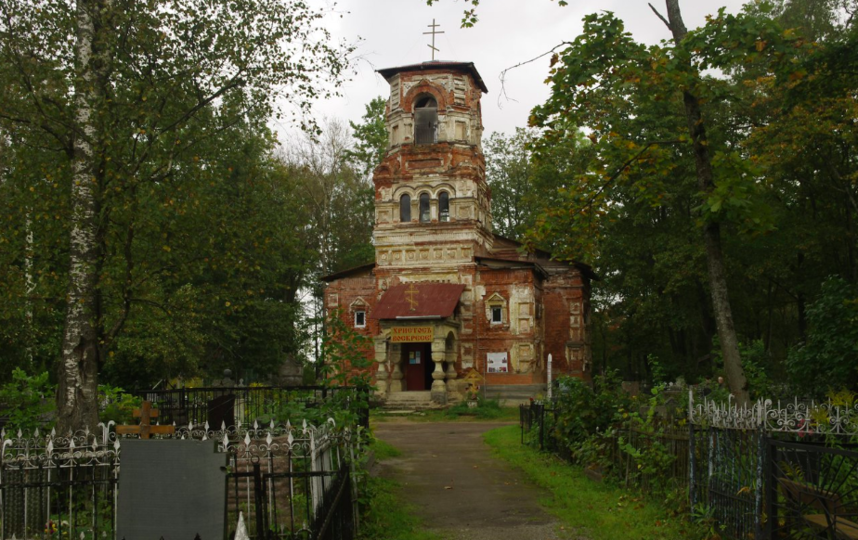 Гатчинский храм во имя Всех Святых. Фото Илья Шарапенков.