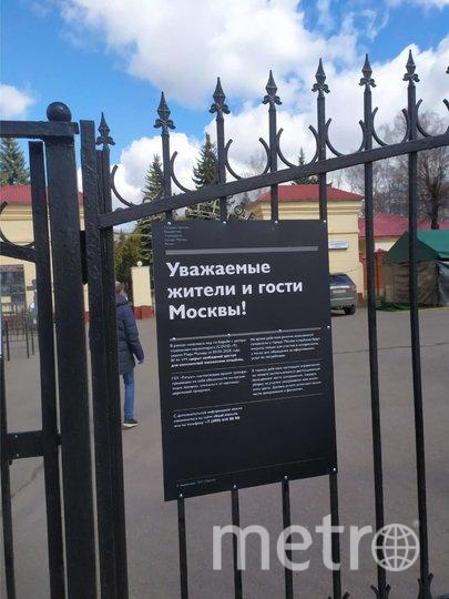 """Репортёры Metro проверили обстановку на столичных кладбищах. Фото Руслана Карпова, """"Metro"""""""
