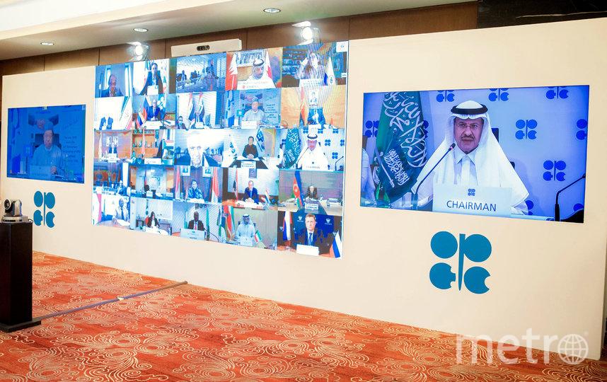 Страны ОПЕК+ пришли к соглашению сократить добычу на 9,7 млн баррелей в сутки. Фото AFP