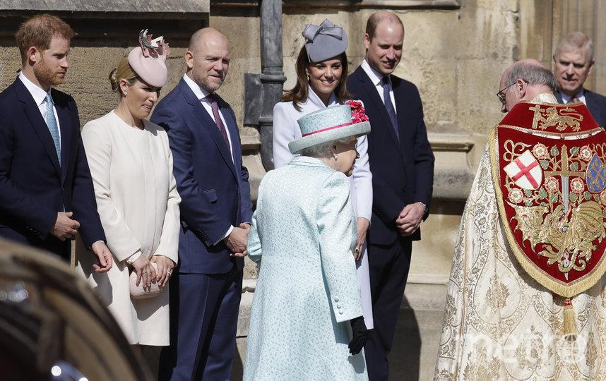 Так королевская семья отметила Пасху в 2019-м году. Фото Getty