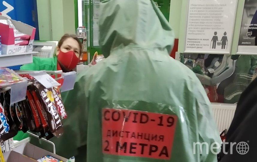 """В одном из магазинов на Васильевском острове 13 апреля. Фото Анна Лутченкова, """"Metro"""""""