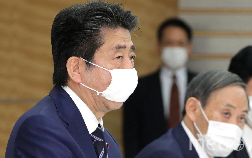 Синдзо Абэ. Фото AFP