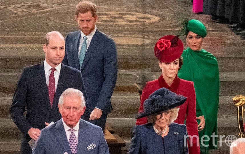 Там были все члены королевской семьи. Фото Getty