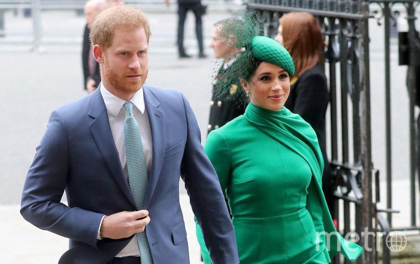 Гарри и Меган на последнем для них официальном королевском мероприятии. Фото Getty