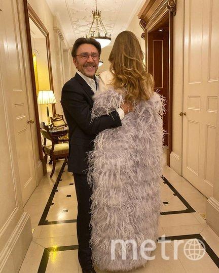 Сергей с женой Ольгой. Фото www.instagram.com/shnurovs/