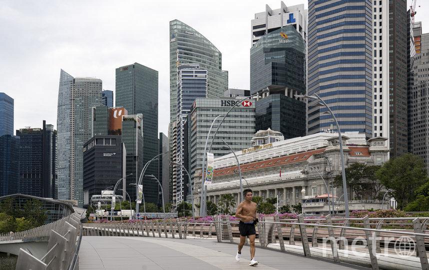 Сингапур считался образцовым государством в борьбе с распространением коронавируса. Фото Getty