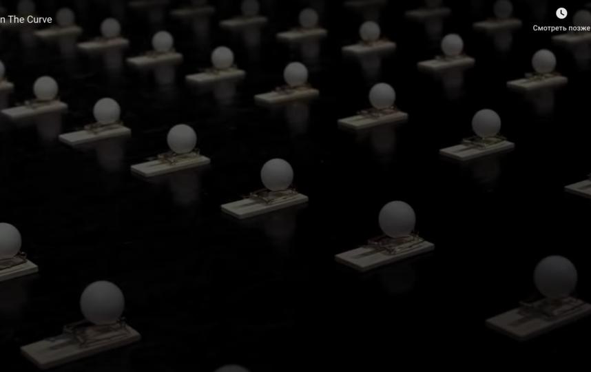 Видео о важности социальной дистанции во время эпидемии. Фото скриншот https://www.youtube.com/watch?time_continue=21&v=o4PnSYAqQHU&feature=emb_title
