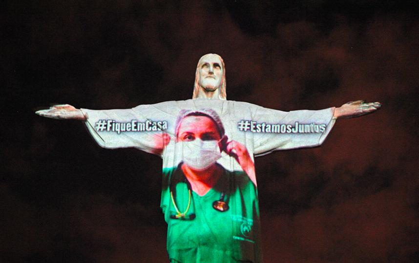 Статуя Христа-Искупителя в Рио-де-Жанейро. Фото Скриншот Youtube