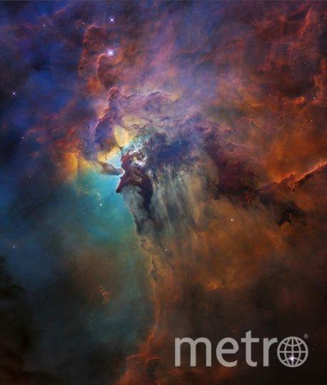 Туманность Лагуна в созвездии Стрельца 12 февраля 2018 года. Фото nasa.gov