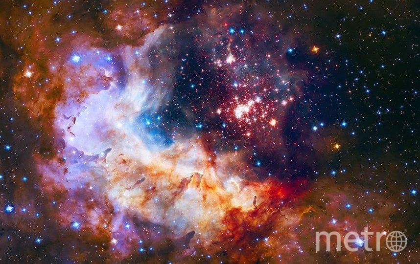 """В день рождения пользователя @being_a_scientist_is_cool Хаббл видел звёздное скопление """"Вестерлунд 2"""". Фото nasa.gov"""