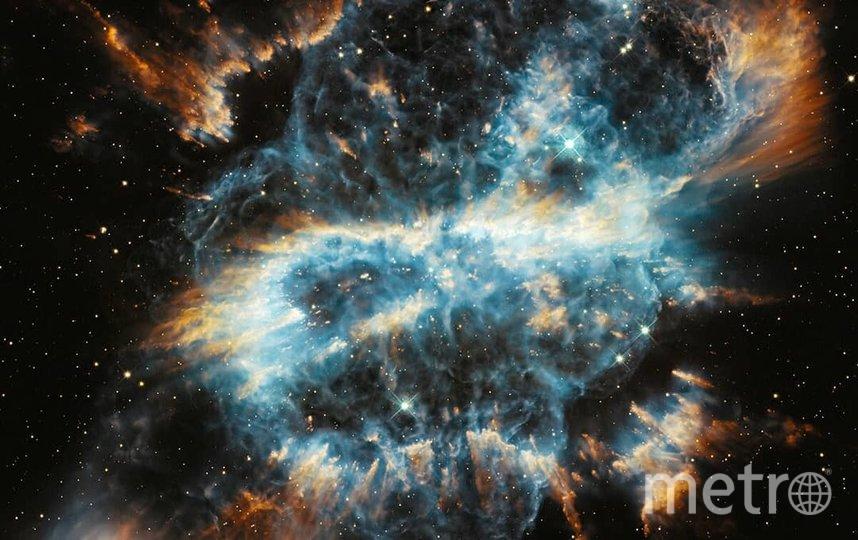 Спиральная Планетарная Туманность в созвездии Муха в день рождения @towardsgeomorphology. Фото nasa.gov