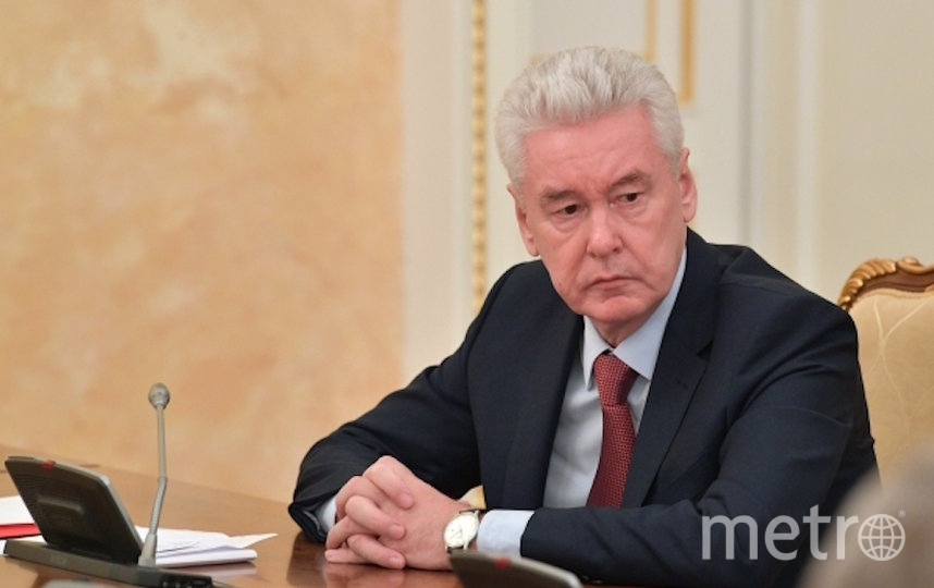 Сергей Собянин открыл новый коронавирусный стационар. Фото РИА Новости