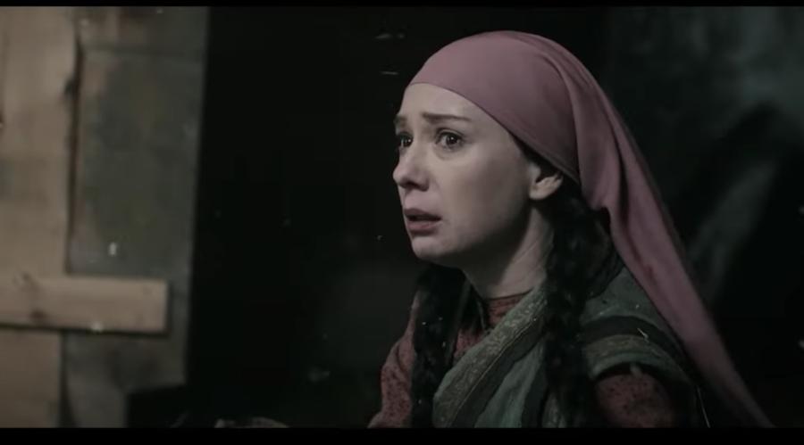 Чулпан Хаматова в роли Зулейхи. Фото кадр из сериала