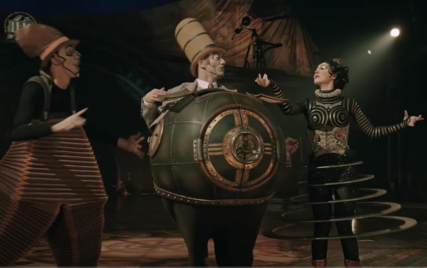 """Цирк дю Солей. Фото  youtube@Cirque du Soleil , """"Metro"""""""