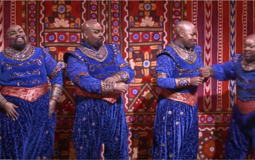 """""""Аладдин"""". Фото youtube@Disney On Broadway., """"Metro"""""""