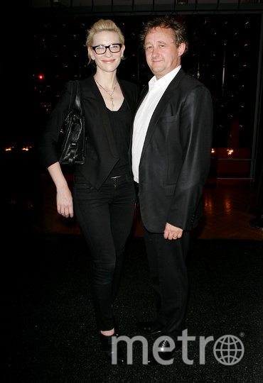 Кейт Бланшетт с мужем. Фото Getty