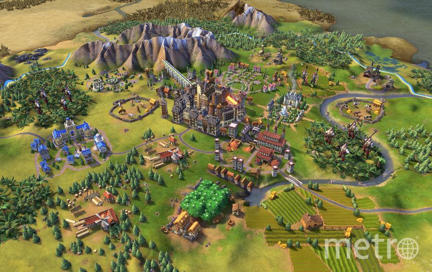 Игра Sid Meier's Civilization VI. Фото Онлайн-сервис Steam
