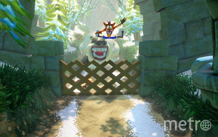Игра Crash Bandicoot N. Sane Trilogy. Фото Nintendo