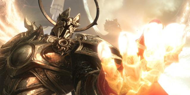 Игра Diablo III.