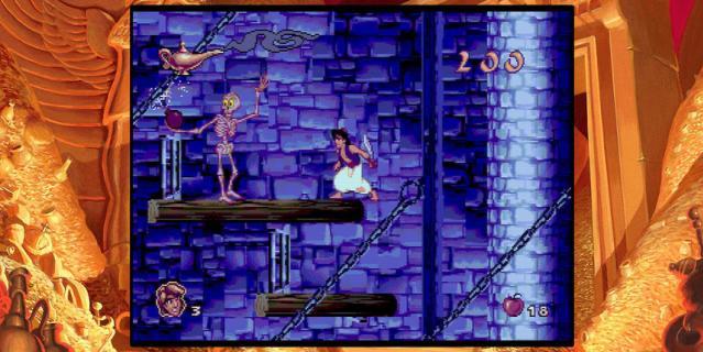 Игра Disney Classic Games: Aladdin and The Lion King.