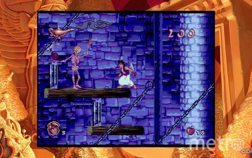 Игра Disney Classic Games: Aladdin and The Lion King. Фото Онлайн-сервис Steam