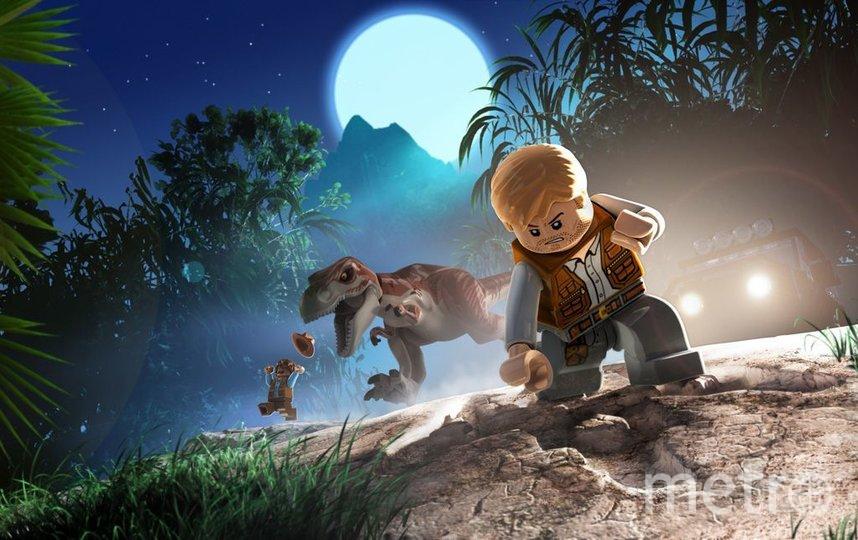 Игра LEGO Jurassic World. Фото XBox