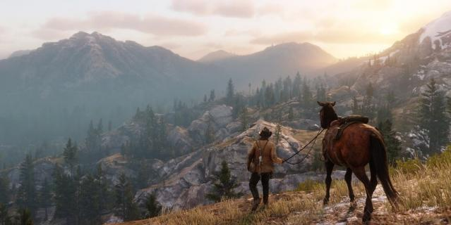 Игра Red Dead Redemption 2.