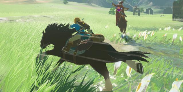 Игра The Legend of Zelda: Breath of the Wild.