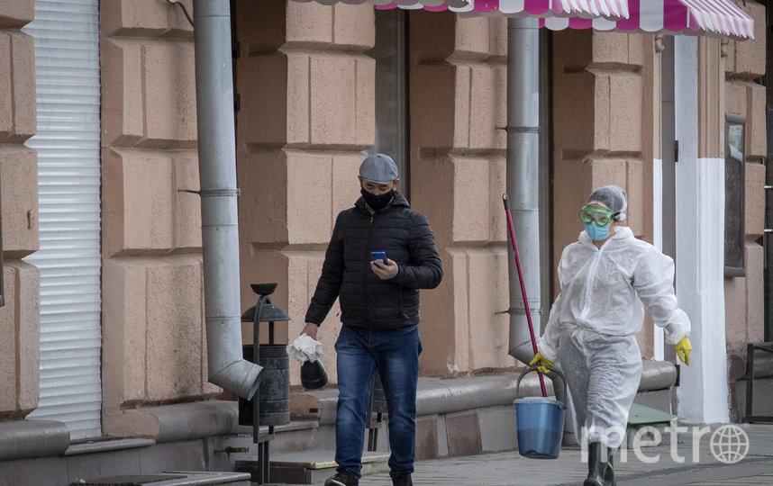 В Москве оштрафовано уже 55 нарушителей карантина. Фото AFP