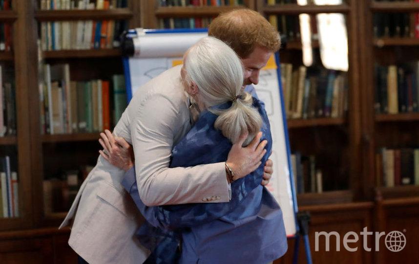 Принц Гарри и Джейн Гудолл. Фото Getty