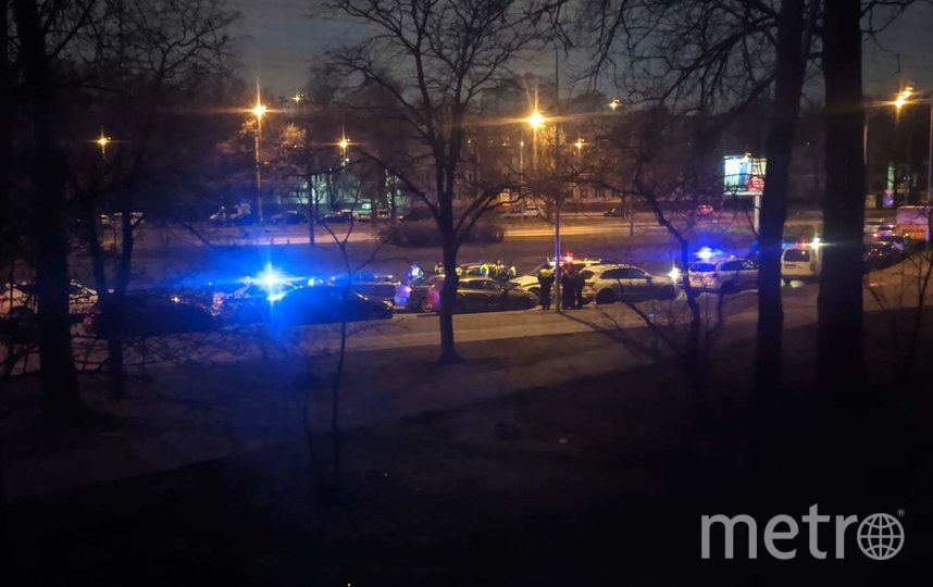 За рулем находился нетрезвый мужчина. Фото https://vk.com/spb_today, vk.com