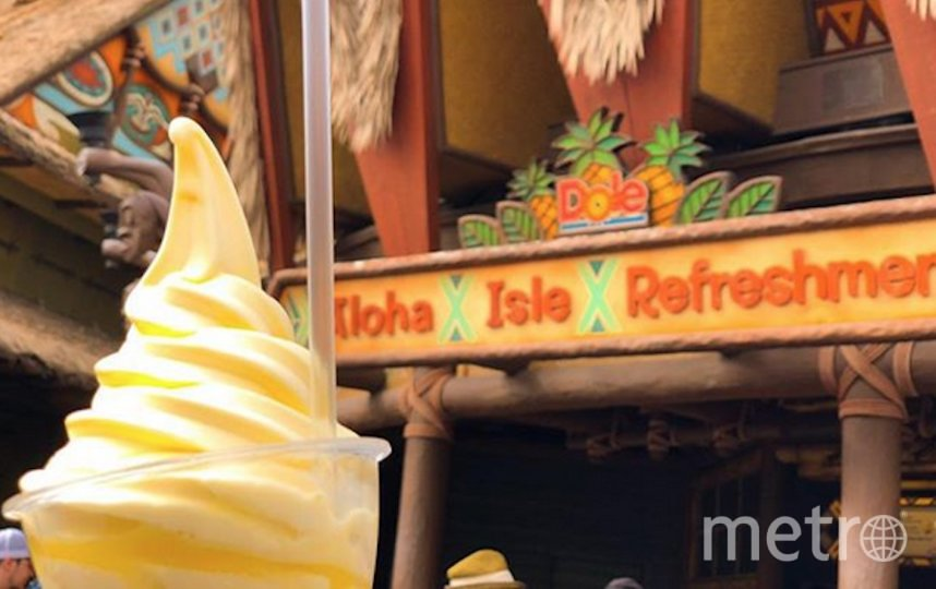 Dole Whip легко приготовить в домашних условиях. Фото скриншот: @waltdisneyworld