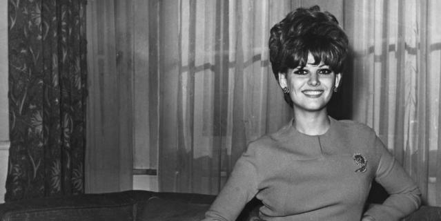 В Лондонском отеле в 1967 году.
