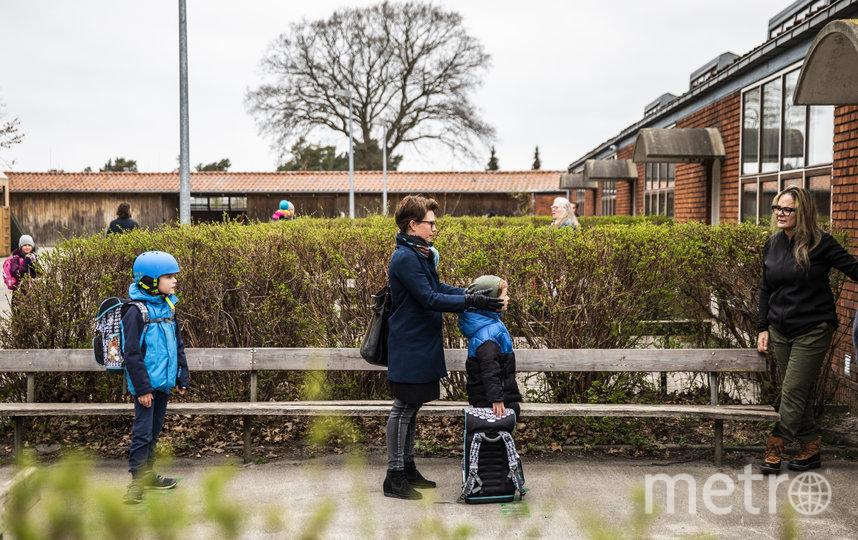 С 15 апреля в Дании открылись детские сады и начальные школы для детей до 11 лет. Фото AFP