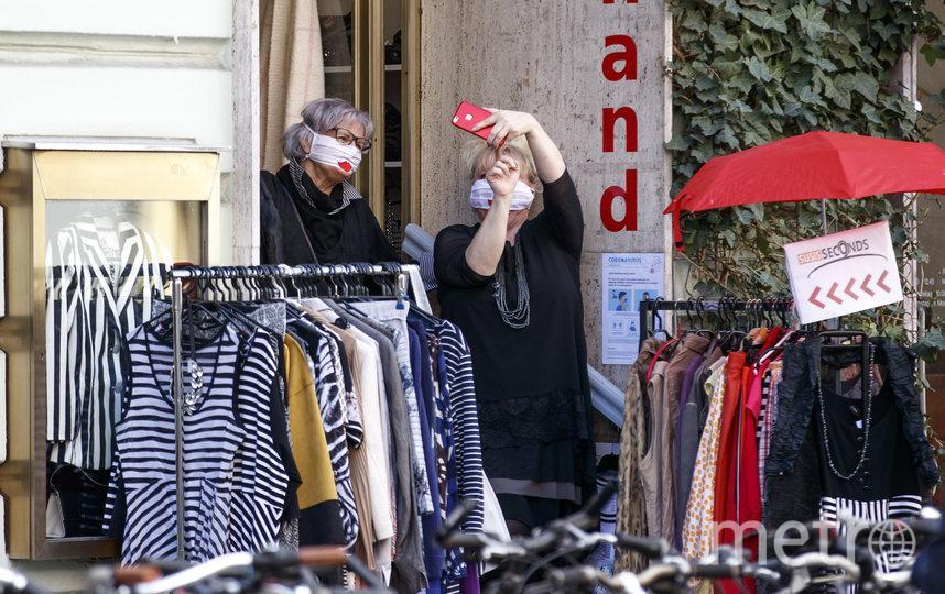 В Австрии открылись некоторые магазины. Фото AFP