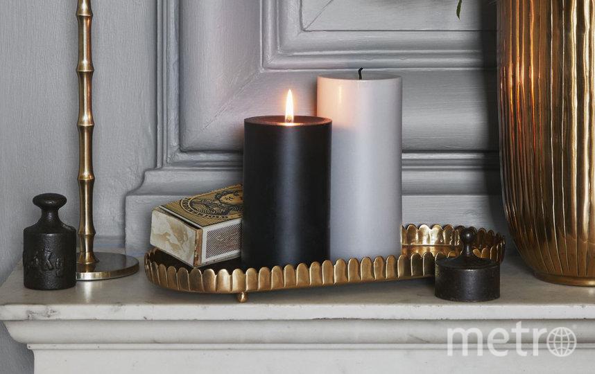 Большая парафиновая свеча H&M Home (399 руб.). Фото www2.hm.com