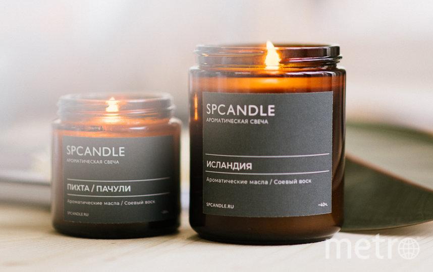 """Соевая свеча SP Candle """"Исландия"""" (800 руб.). Фото spcandle.ru"""