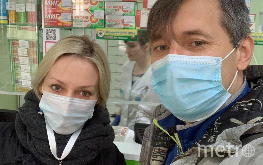 Волонтеры Тимур Колосов и Юлия Курбатова. Фото из архива Тимура Колосова