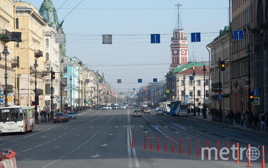"Санкт-Петербург в дни карантина. Фото ""Metro"""