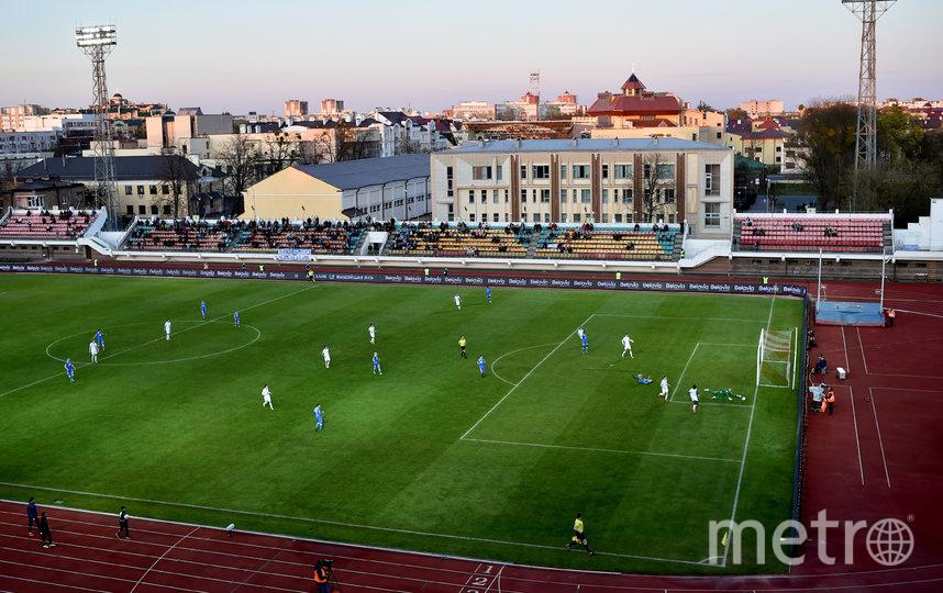 В Белоруссии продолжается футбольный чемпионат. Фото AFP