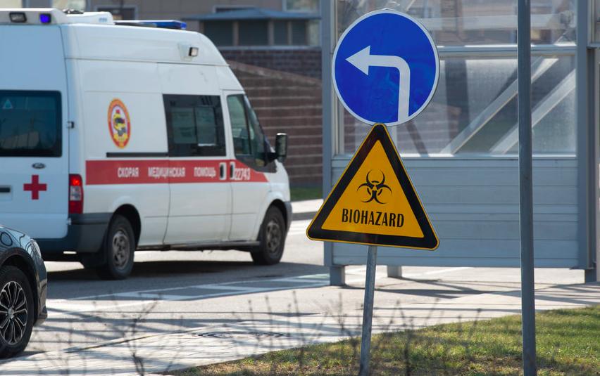 """Врачи Петербурга на страже коронавируса. Фото """"Metro"""""""