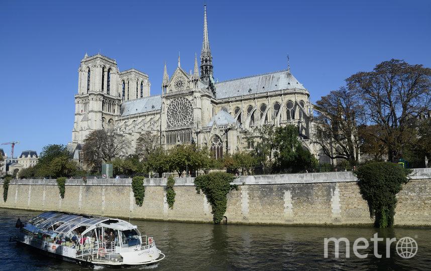 Собор Парижской Богоматери до пожара. Архивное фото. Фото AFP