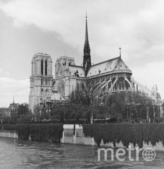 Собор Парижской Богоматери до пожара. Архивное фото. Фото Getty