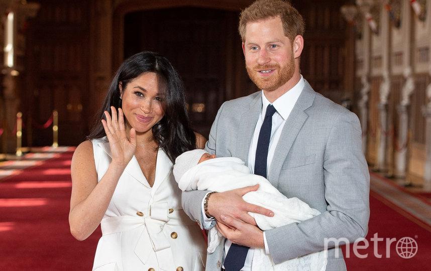 Принц Гарри, Меган Маркл и Арчи. Фото AFP