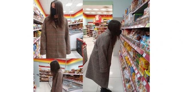 Поход в магазин стал трендом соцсетей.