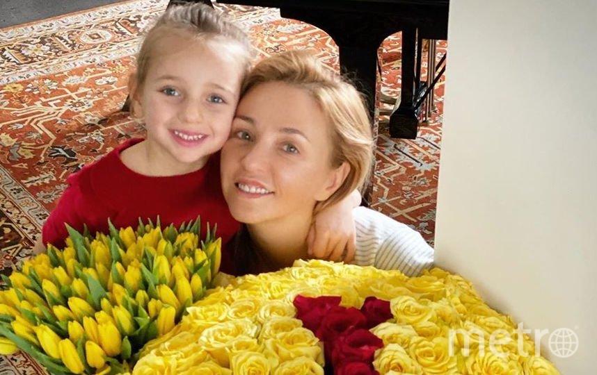 Татьяна Навка с дочкой Надей. Фото instagram.com/tatiana_navka.