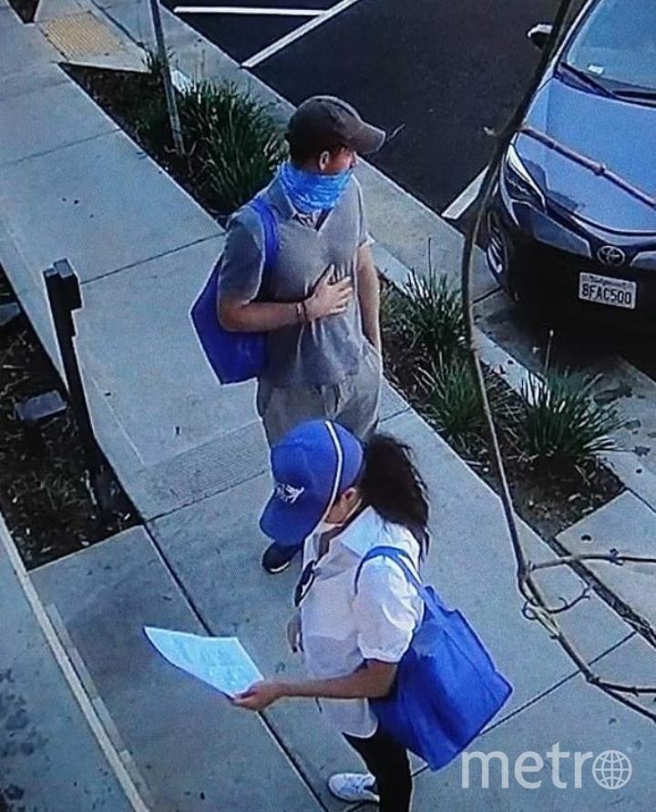 Меган Маркл и принц Гарри в Лос-Анджелесе. Фото Скриншот Youtube
