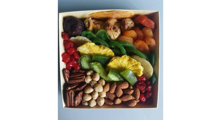 """Хороший выбор – сухофрукты и орехи. Фото Instagram @muskat_lviv, """"Metro"""""""