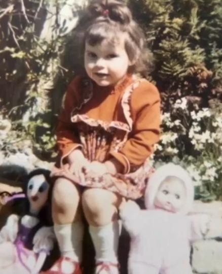Виктория Бекхэм в детстве. Фото Instagram @victoriabeckham