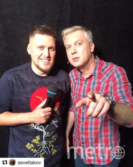 Александр Незлобин и Сергей Светлаков. Фото instagram.com/nezlobinofficial.